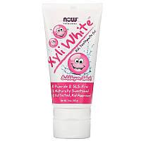 Детская зубная паста Now Foods Xyli-White вкус жевательной резинки