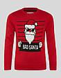 Новорічний червоний светр для хлопчика C&A Німеччина Розмір 146-152, фото 3