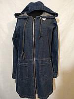 Джинсовая куртка без подкладки