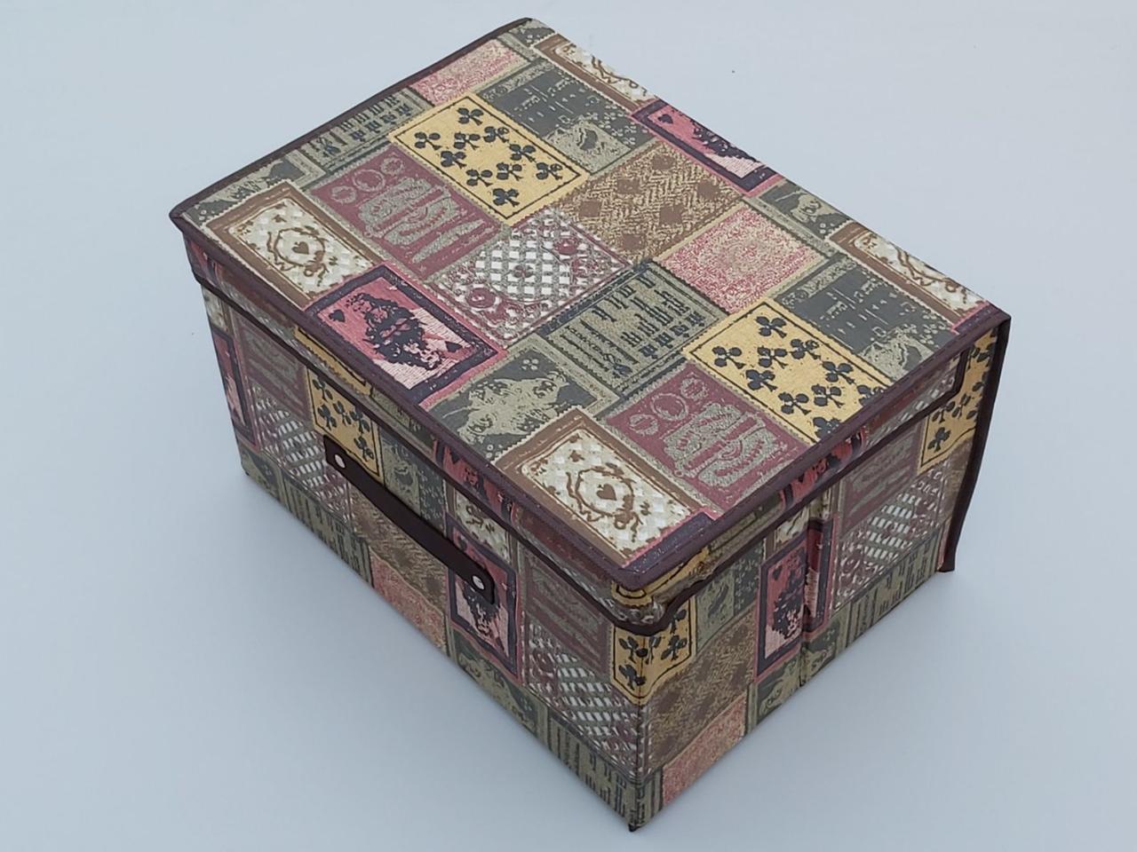 Коробка для хранения коричневого цвета