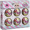 L.O.L. Surprise! Confetti Pop  - Набір лол конфеті із 6 (ЛОЛ 6 Pack  Re-Released перевипуск набір із 6 кульок), фото 3