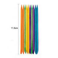 Апельсинові палички Кольорові 11.4 см 100 шт