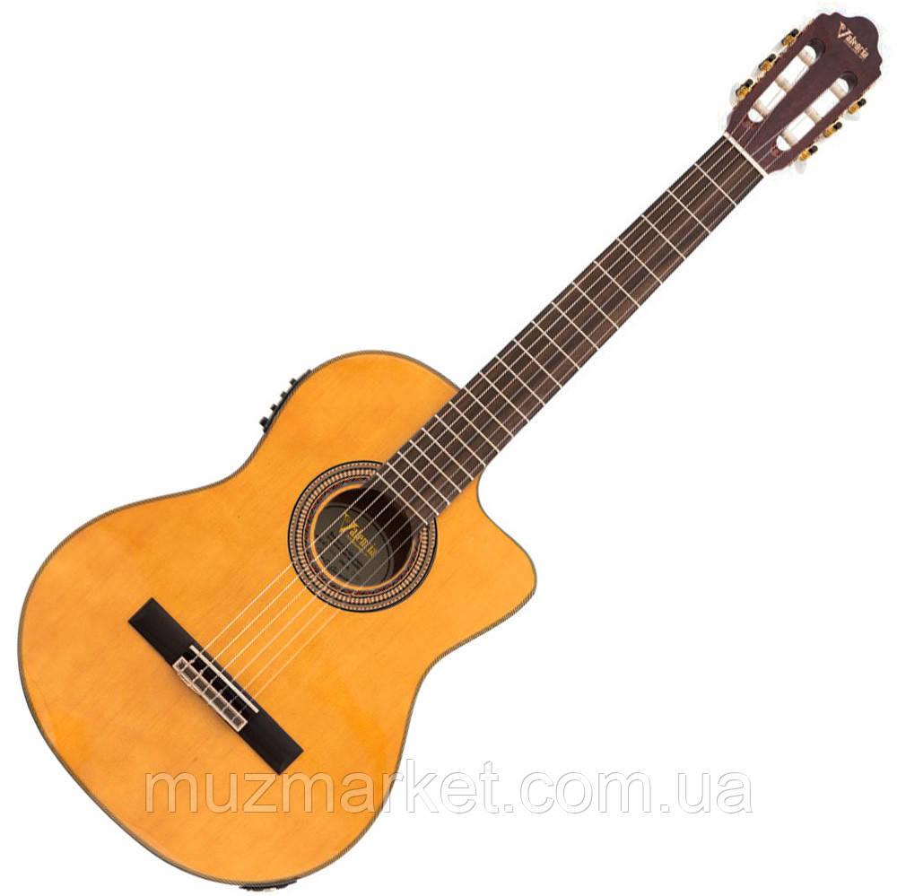 Классическая Гитара С Подключением VALENCIA VC604CE