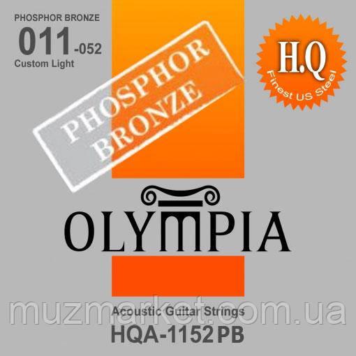 Струни Для Акустичної Гітари OLYMPIA HQA1152PB