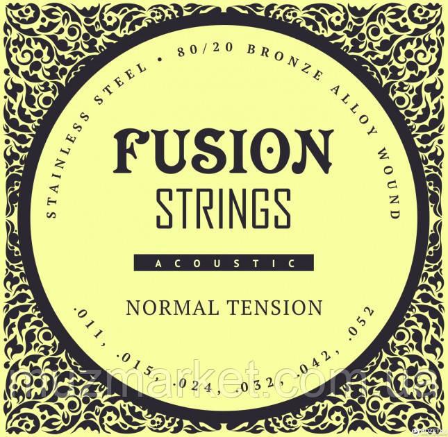 Струны для акустических гитар Fusion strings FA11