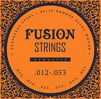 Струны для акустических гитар Fusion strings FA12