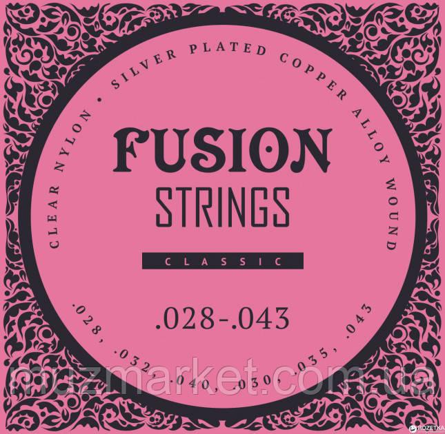 Струны для классических гитар Fusion strings FC28