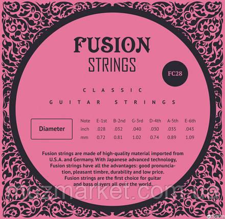 Струны для классических гитар Fusion strings FC28, фото 2