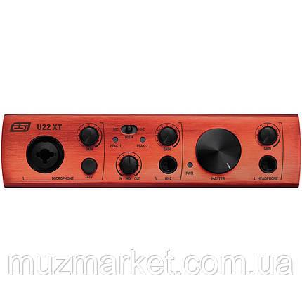 Аудіоінтерфейс ESI U22 XT, фото 2