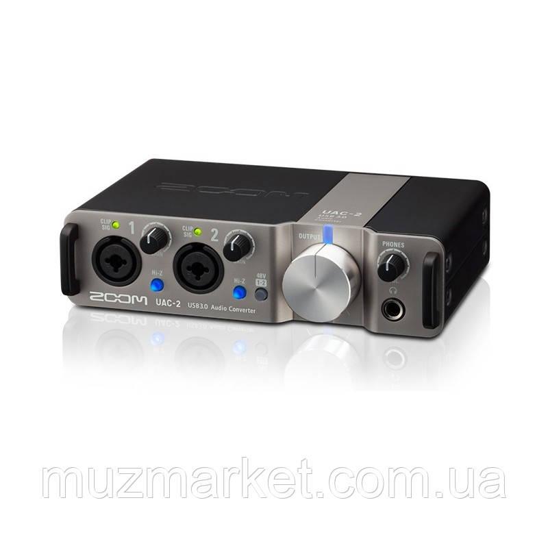 Аудіоінтерфейс Zoom UAC-2
