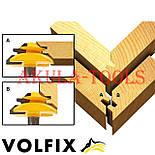 Фреза VOLFIX №2 D38 d8 для кутового зрощування деревини (мікрошип) (марошип) по дереву FZ-120-552 d8, фото 5