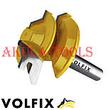 Фреза VOLFIX №2 D38 d8 для кутового зрощування деревини (мікрошип) (марошип) по дереву FZ-120-552 d8, фото 9