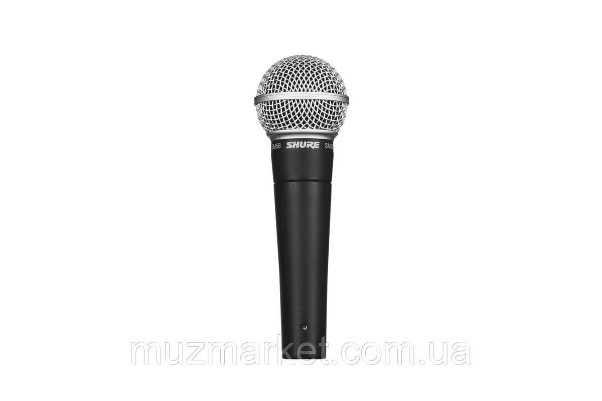 Мікрофон SHURE SM58-LCE