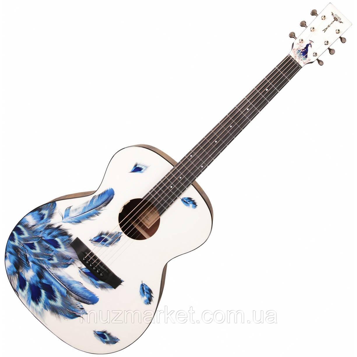 Гитара электроакустическая Tyma V-3 Plume