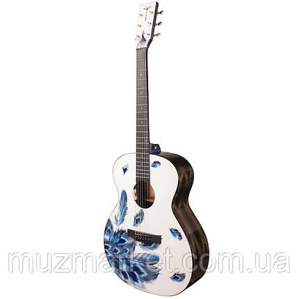 Гитара электроакустическая Tyma V-3 Plume, фото 2
