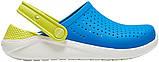 Детские кроксы Crocs Literide Kids голубые С11/ 17,8 – 18,2 см, фото 2