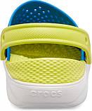 Детские кроксы Crocs Literide Kids голубые С11/ 17,8 – 18,2 см, фото 3