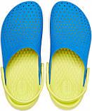 Детские кроксы Crocs Literide Kids голубые С11/ 17,8 – 18,2 см, фото 4