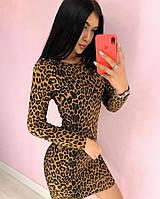 Платье леопард, фото 1