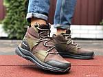 Мужские зимние ботинки Columbia (темно-зеленые) 10143, фото 3