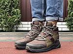 Чоловічі зимові черевики Columbia (темно-зелені) 10143, фото 4