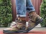 Чоловічі зимові черевики Columbia (темно-зелені) 10143, фото 6