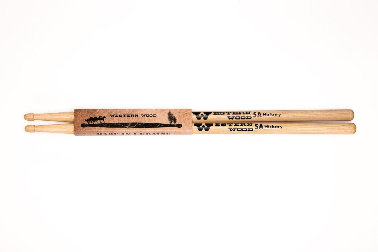 Барабанные палочки Western Wood Hickory 5A