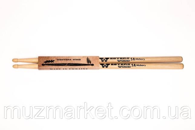 Барабанные палочки Western Wood Hickory 5A, фото 2