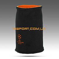 Бафф (горловик) двусторонний Лига Чемпионов черный / найк оранжевый