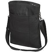 Шкіряна жіноча сумка BagHouse 3 відділення 25х32х6 ДМ620