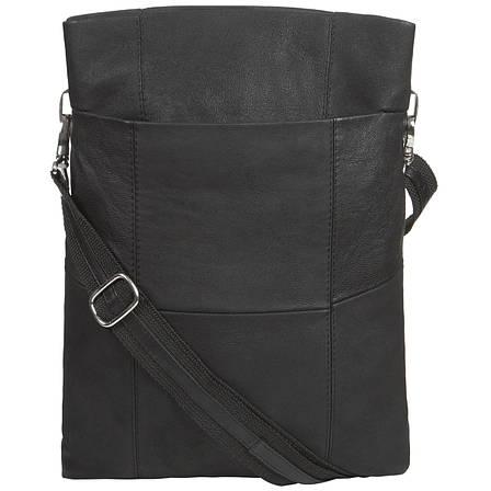 Кожаная женская сумка BagHouse 3 отделение 25х32х6  ДМ620, фото 2