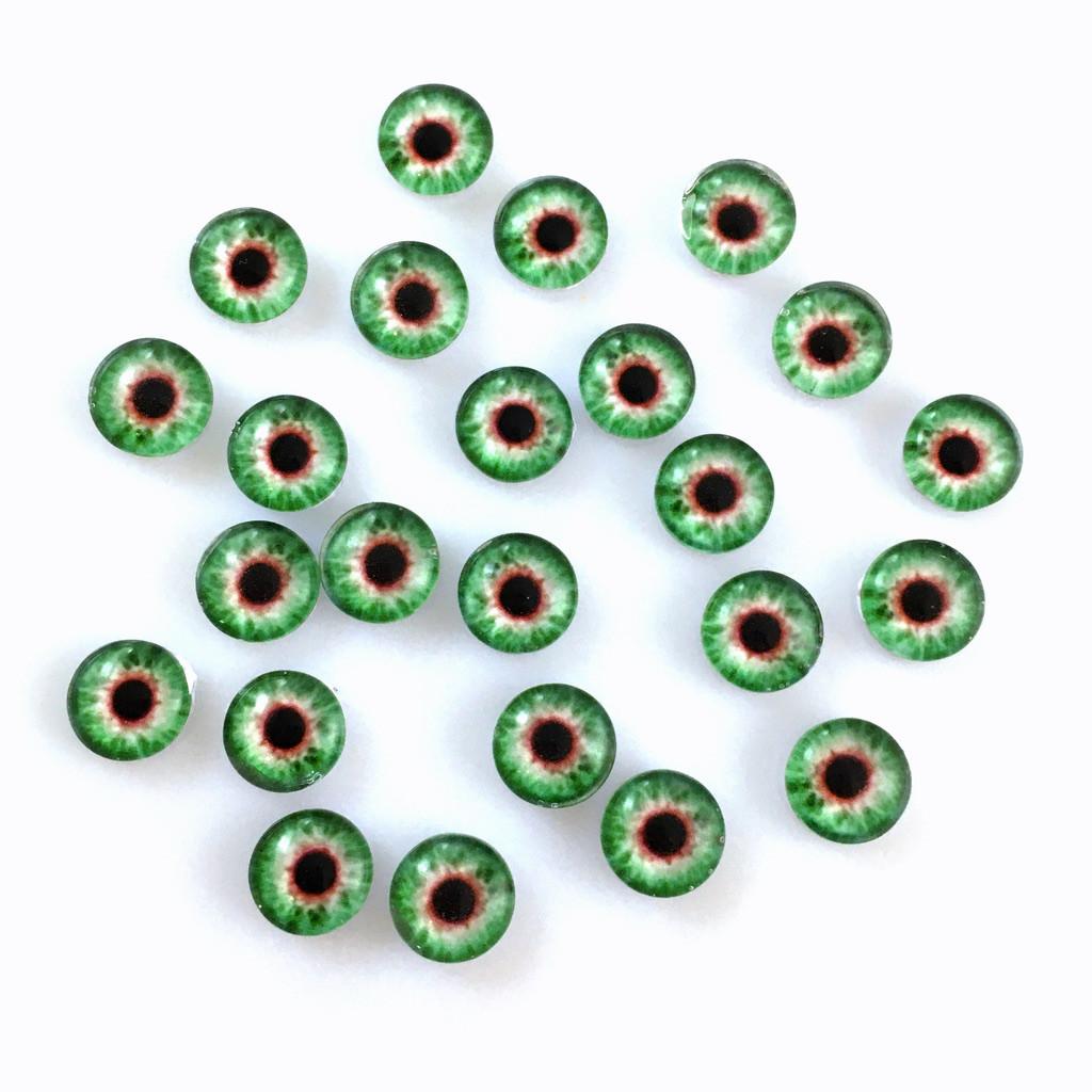 Кабошоны глаза 8 мм (8-041). Цена за 2 шт.