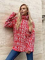 Женский свитер с принтом, фото 1