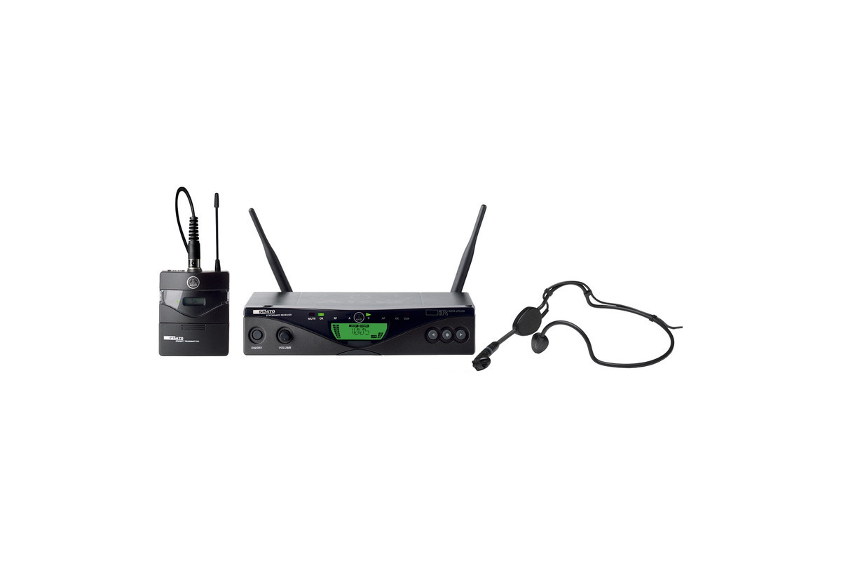 Микрофонная радиосистема AKG WMS470 SPORTS SET BD9 50mW - EU/US/UK