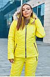 Костюм теплий жіночий зимовий, лижна куртка і штани, фото 6