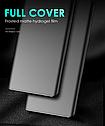 Матовая Гидрогелевая пленка  противоударная для Samsung S10 A10s/ A20/A30/ A40 A50  все модели   ультратонкая, фото 4