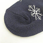 Женские носки с махрой ЖИТОМИР СТИЛЬ 23-25 ассорти снежинки 20034283, фото 2
