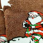 Носки женские махровые новогодние высокие Добра Пара 23-25р дед мороз ассорти 20038960, фото 5