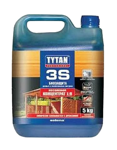 Биозащита для древесины от насекомых , Tytan 3S 5 кг