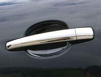 Citroen C-4 Picasso 2006-2013 гг. Накладки на ручки (нерж) OmsaLine - Итальянская нержавейка