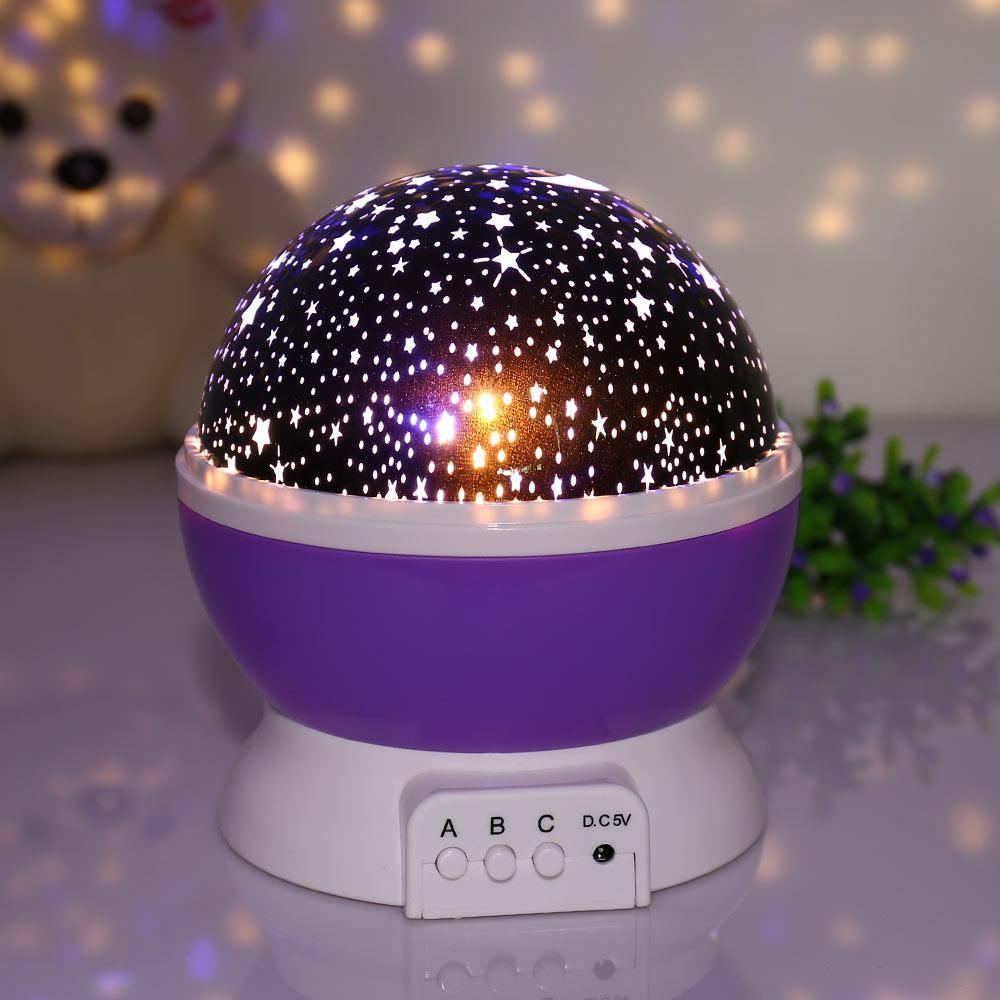 Нічник проектор зоряного неба Star Master Dream, Нічник старий майстер, що Обертається нічник-проектор