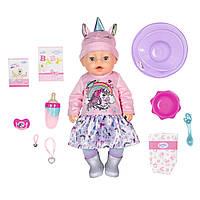 Кукла Zapf Creation Baby Born Нежные объятия Очаровательный Единорог с аксессуарами 43 см (831311)