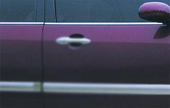 Ford Focus I 1998-2005 гг. Наружняя окантовка стекол (4 шт, нерж)