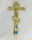Крест священника требный с эмалью, фото 2