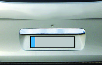 Hyundai Starex H1 H300 2008↗ гг. Накладка над номером (нерж.)