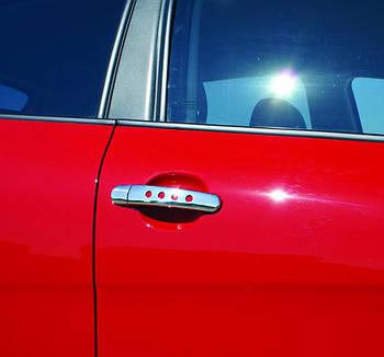 Volkswagen Beetle 1998-2005 гг. Накладки на ручки ДЕКОР (2 шт, нерж)