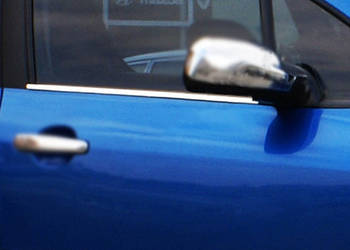 Peugeot 307 Наружняя окантовка стекол (4 шт, нерж)
