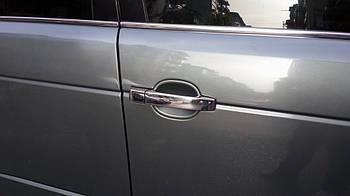 Range Rover III L322 2002-2012 гг. Накладки на ручки (4 шт, нерж)