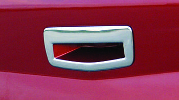 Renault Megane II 2004-2009 гг. Накладка на ручку багажника (SD, нерж)