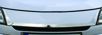 Renault Megane III 2009-2016 гг. Накладка на решетку (нерж)
